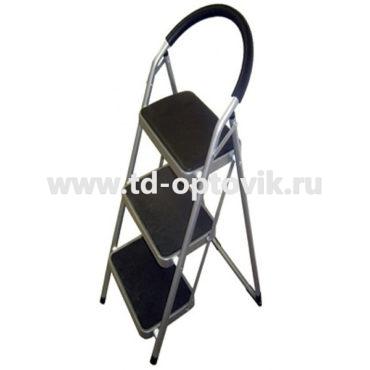 Стремянка-стул с мягкими и прорезинованными ступенями