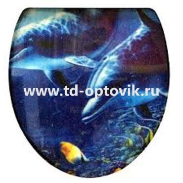 СТЕРЕО  крышка с голографическим рисунком 3D-008