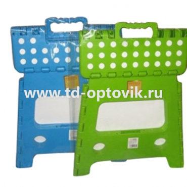Стульчик раскладной пластиковый универсальный 027
