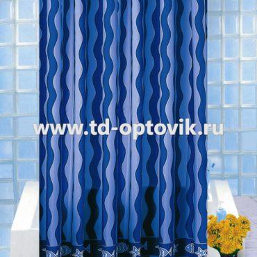 Шторка в ванную комнату VONALDI DALGALI BALIK-2