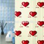 Шторка в ванную комнату VONALDI I LOVE YOU