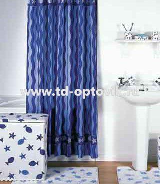 Шторка в ванную комнату VONALDI DALGALI BALIK