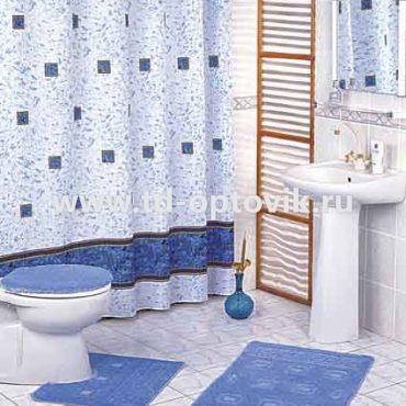 Шторка в ванную комнату VONALDI ZUMRUT