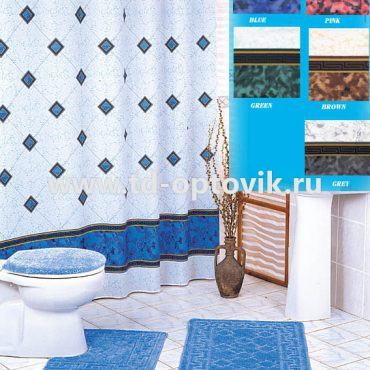 Шторка в ванную комнату VONALDI BEZEME