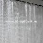 Шторка в ванную комнату La Vita 3D 180х200 прозрачный