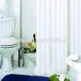 Штора д/ванн 180х200 Rigone бел.