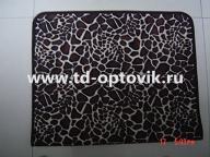 Коврик универсальный шкура жираф темный 65х90см