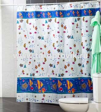 Шторы для ванн MIRANDA AQUARIUM цвета в ассортименте