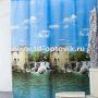 Шторы для ванн MIRANDA MILL голубой