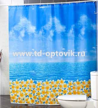 Шторы для ванн MIRANDA OCEAN FRESH голубой