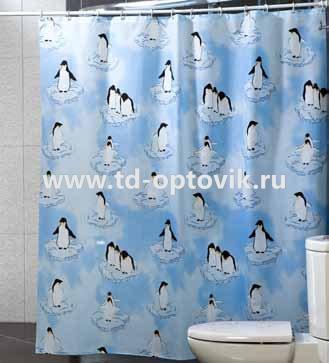 Шторы для ванн MIRANDA PENGUIN цвета в ассортименте