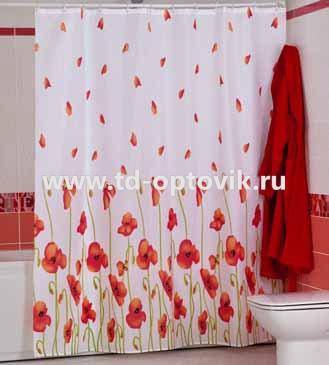 Шторы для ванн MIRANDA POPPY