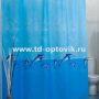 Шторы для ванн MIRANDA WHALE голубой