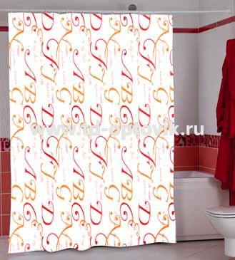 Шторы для ванн MIRANDA CEDILLA цвета в ассортименте