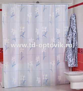 Шторы для ванн MIRANDA COUNTRY FLOWER цвета в ассортименте