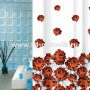 Шторка в ванную комнату VONALDI ROSERY