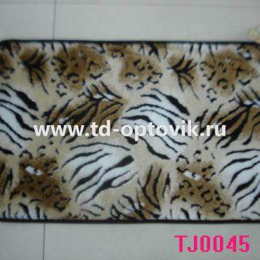 Коврик универсальный шкура тигр 60х100/65х90см