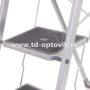 Стремянка с резиновыми ступенями 3 ступени
