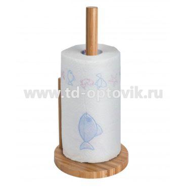 Держатель бумажных полотенец бамбук