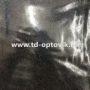 Шторка в ванную комнату 3D Серебрянный дождь
